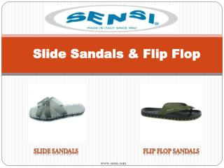 Buy Best and Comfart Slide Sandals & Flip Flop - Sensi Sandals