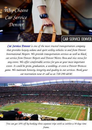 Car Service Denver