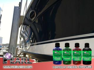Experience the new car coating with fast curing from Pearl