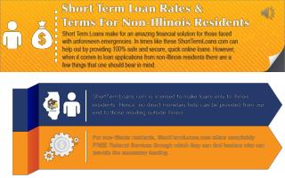 Rates & Terms For Non-Illinois Residents - Short Term Loan