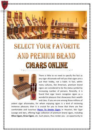 Cigars Online