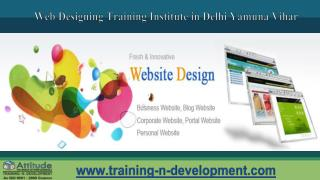 web designing training in delhi