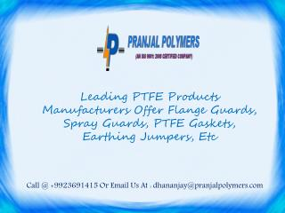 PTFE Flange Guards Manufacturers India, Wholesalers United States