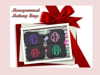 Personalized & Monogrammed Makeup Bags