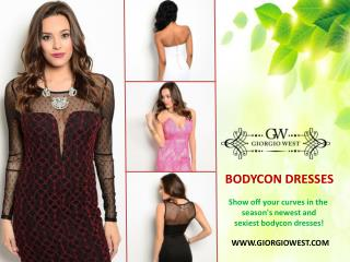 The Newest And Sexiest Bodycon Dresses Online | Giorgio West