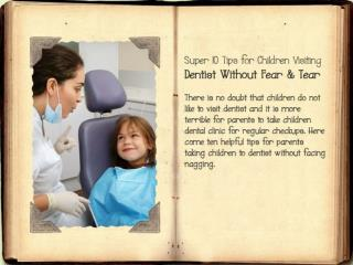 Children's Dental Treatments - By Experienced Dentist in Holborn & London