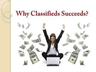 Why Classifieds succeeds?