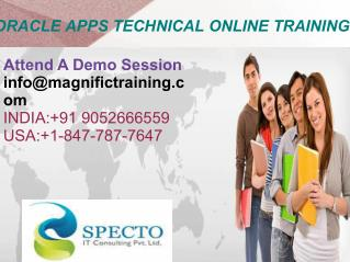 Live Oracle Apps Technical Online Training institute
