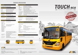 Touch Eco Superline Bus: School Bus by JCBL