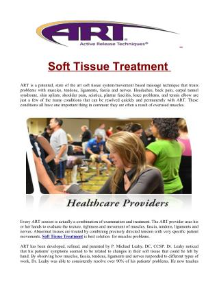 Soft Tissue Treatment