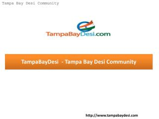 TampaBayDesi – Tampa Bay Desi Community