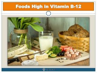 Foods High in Vitamin B-12 | Sehat.com
