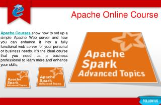 Apache Spark Courses Online
