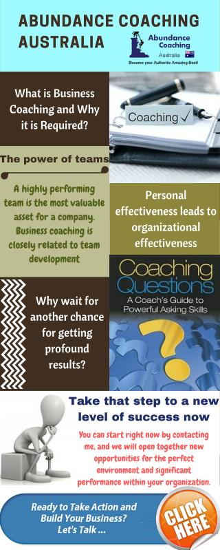 Why Business Coaching is Required?