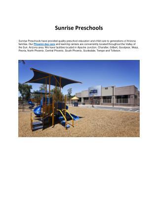 Phoenix Day Care