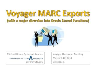 Voyager MARC Exports with a major diversion into Oracle Stored Functions