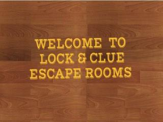 Real Life Escape Room Rhode Island