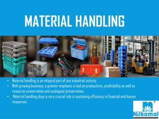 Material Handling Products-Nilkamal