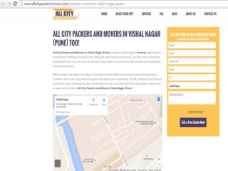 All City Packers and Movers in Vishal Nagar (Pune) Too!
