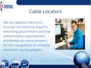 Cable Locators