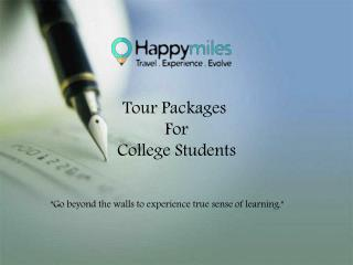 Eductional Field trip For College Students