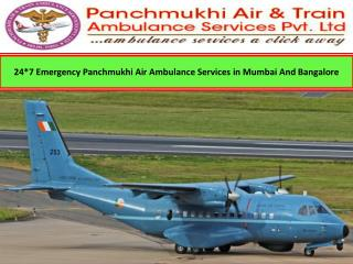 Panchmukhi Air Ambulance Services in Mumbai and Bangalore - Medical Air Transport