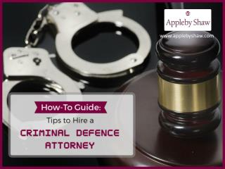 Guide to Choose Criminal Defence Attorney – Read Now!