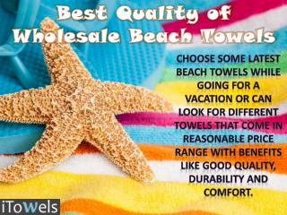 Best Quality of Wholesale Beach Towels