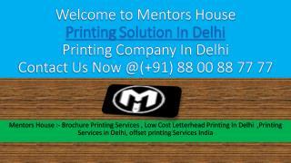 Printing Services In Delhi