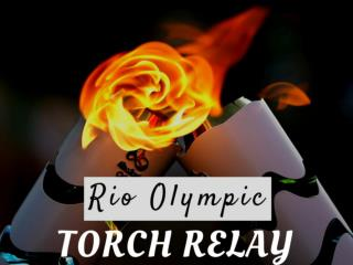 Rio Olympic torch relay
