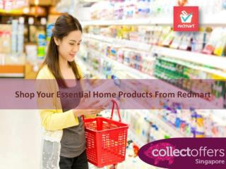 Shop Your Essential Home Products From Redmart