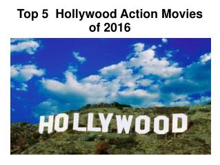 top 5 hollywood action movie