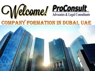 Affordable Company Formation Services in Dubai, UAE