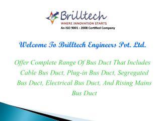 Plug in Bus Duct Manufacturers