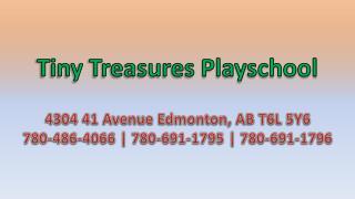 Tiny Treasures Playschool - Edmonton