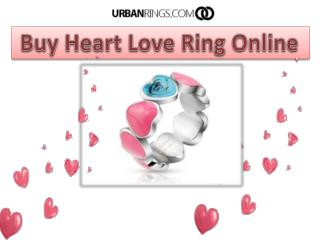 Buy Heart Love Ring Online