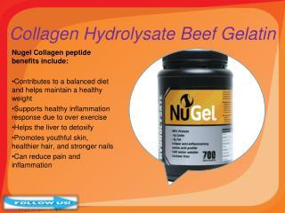 Gelatin Collagen Hydrolysate Beef