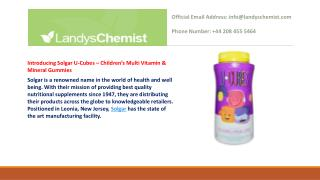 Children's Multi Vitamin & Mineral Gummies