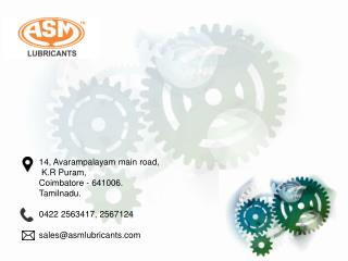 Industrial Oil Manufacturer in coimbatore | ASM tooling