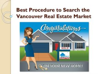 Macdonald Realty - Completely Familiar with the Vancouver Real Estate Market