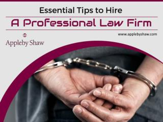 Essential Tips to Hire a Professional Law Firm in Knightsbridge