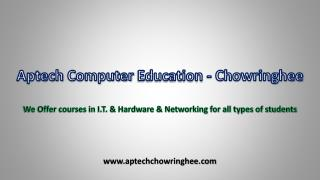 Aptech Computer Education - Chowringhee