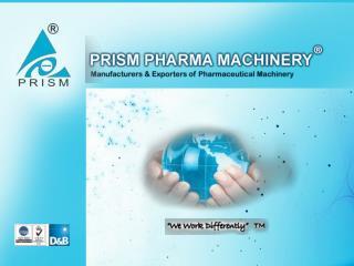 Pharma Machines Manufacturer