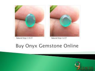 Buy Onyx Gemstone Online