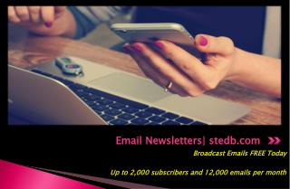 Free Email Newsletter - stedb.com
