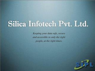 Networking Solutions at Silica Infotech Pvt. Ltd.