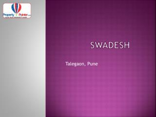 Swadesh Talegaon Pune by Saarrthi Group - 8888292222