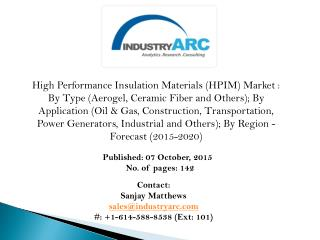 High Performance Insulation Materials Market- Vacuum Insulation indeed possible in our Buildings?