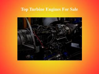 Reliable Models of Turbine Engine For Sale