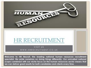 Hr recruiters